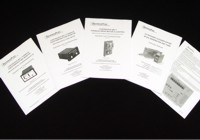 Manuals for Furnace Components